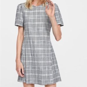 Zara Plaid Mini Dress